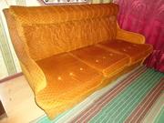 Мягкий уголок САБИНА (раскладной диван,  2 кресла,  журнальный столик)