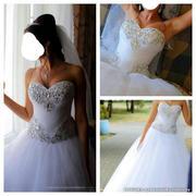 Красивое свадебное платье 110